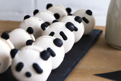 CEB Panda Macarons